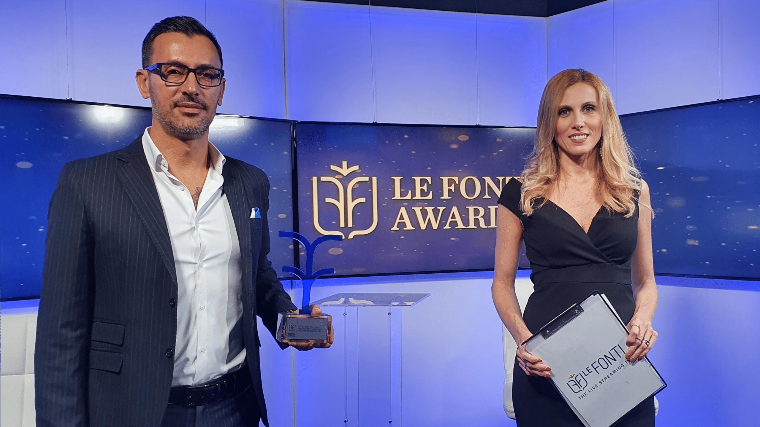 Premio per Eccellenza dell'Anno / Innovazione & Leadership / Investimenti Immobiliari